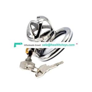 FAAK 49mm Male Chastity Device Cock Lock Fetish Virginity Stainless Steel Bird Belt Sex Games For Adult Erotoc control time