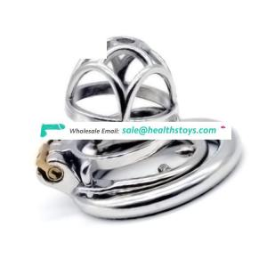 FAAK 5.3cm  chastity device  chastity cage stainless steel chastity lock cage  penis cock cage for male