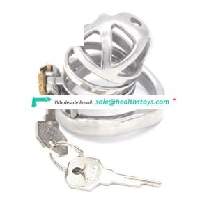 FAAK 5.7cm metal chastity cage penis cage for male chastity device wholesale sex toys chastity cage stainless steel