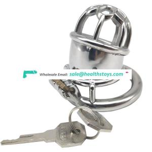 FAAK 5.8cm  304stainless steel man chastity  for male chastity device lock penis cage metal chastity cage for male