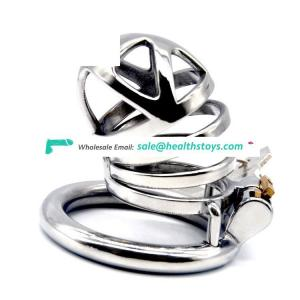 FAAK 60mm  chastity cage   chastity lock penis cage for male chastity device cock cage