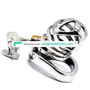 FAAK 6cm metal chastity cage penis cage  chastity cage  304 stainless steel for male chastity device