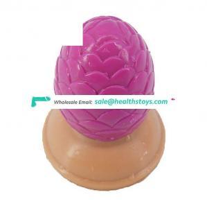 FAAK 9.5*8.2cm ball shape anal silicone wholesale sex toys cone pine  women butt plug sex toys anal oem dildo anal