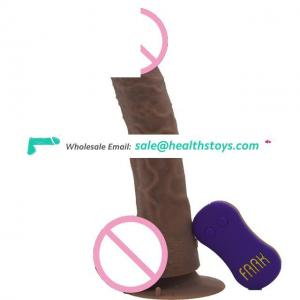 FAAK Best Selling Sex Toy Pussy Silicone Condom Female Masturbator Vibrating Ejaculating Dildo for Adults