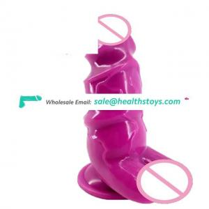 FAAK Best Selling and Flexible Healthy Adult Sex Toys and Huge Stimulate Realistic Dildo for Men and Moman
