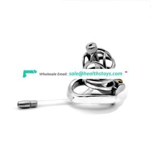 FAAK Bird Cage Male Chastity Device Metal Cock Ring EQV CB6000 penis cock cage virgin lock penis lock adult game cock for men