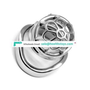 FAAK FRRK-02C Male Chastity Device Metal Cage Penis Ring for male Restraint Ring Cage Chastity  Sex Toy For Man