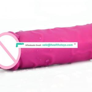 FAAK G104 8.46 inch women adult sex toys pink color realistic medical dildos silicone dildo with suction cup