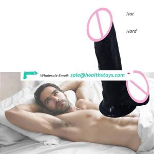 FAAK-G106  19cm*3.8cm  Liquid Silicone Dildo Real Sex Feel for Women Adulto Anal Erotic Toys Sex Adult