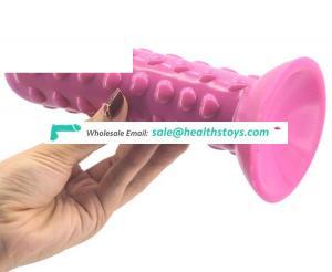 FAAK G148 heart shape sex toys woman Raised dots  sexual toys for women clitoris stimulator g spot butt plug sex toys adult
