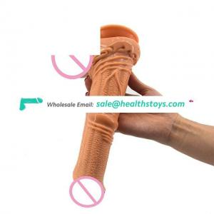 FAAK Hot Selling Adult Silicone Dildo Sex Products  for Women and Men Masturbating with Healthy Material