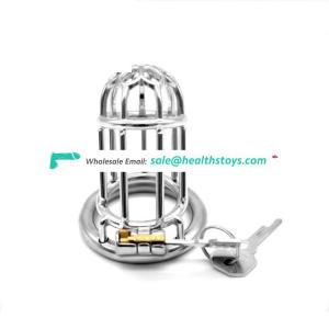 FAAK Penis Male Chastity Device Cock Cage metal Chastity Belt Penis Cage Sex Toys Drop shipping male chastity cock cage for men