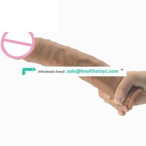 FAAK Realistic 9inch big and thick dildo artificial penis  rubber penis toys sex adult  dildo realistic sex shop