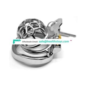 FAAK Stainless Steel Cock Rings Snake Totem Male Chastity Device Cock Cage Lock Belt Penis Rings Sex Toys Metal Small Cock Cage