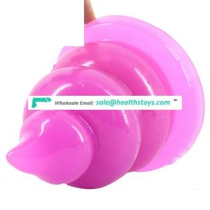 FAAK042 Bowel Movement Stool Butt Plug Spiral Dildo Erotic Adult Sex Toy For Women Men Sex Products Excrement Shape Anal Toy