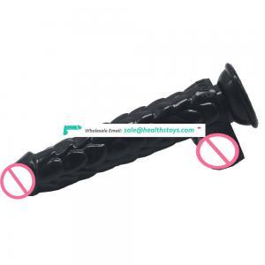 FAAK129 long dragon snake skin shape silicone dildo prostatic massage womanizer toy sex adult