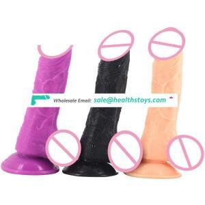 FAAK19cm black dildo realistic Juguetes sexuales toys sex adult plastic penis  sex dildo for female wholesale sex toys