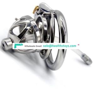 FRRK 4.9cm man chastity cage with cock ring metal Male chastity device lock penis in cage with keyholder+clasp