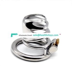 FRRK 5.4cm stainless steel man chastity cage  Male chastity device SM sex toys male  chastity cage