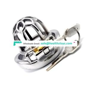 FRRK 51mm chastity lock penis cage with keyholder chastity cage metal sm sex toys for male chastity device for man