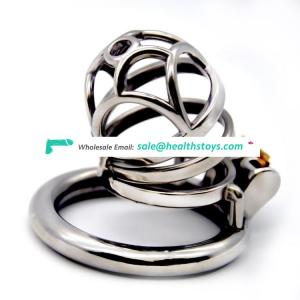 FRRK 60mm sm sex toys chastity lock penis cage with keyholder Male chastity device  chastity cage 304 stainless steel