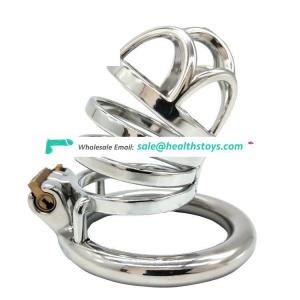 FRRK 66mm Chastity Device Male Penis Ring Tune Bondage Cage Sex Toy Restraint Ring Sex Games Chastity Cage For Couples
