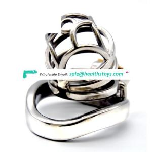 FRRK Male Chastity Device 304 Stainless Steel Cock Lock 100% Waterproof Chastity Cage Cage Chastity For Man SM Cage