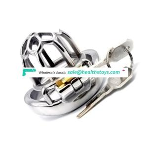 FRRK18D sex shop SM toys sex adult 5cm small cock cage with penis ring chastity stainless steel chastity cage sex toys for male