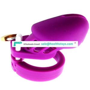 """Faak Sex Shop 3.9""""inch Lock Penis In Cage With Silicone Keyholder Chastity Male Chastity Device"""