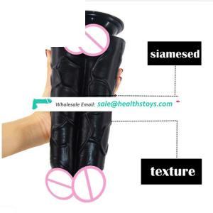 Hot Sale FAAK056 Realistic Suction Dildo faak  Big Size Double Dildo Sex Toy for Women Men