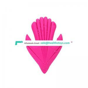 Hot selling high quality women flexible vibrator dildo rotating head