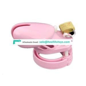 Male Chastity Device Penis Ring Cock Cage Virginity Chastity Lock Penis Cage