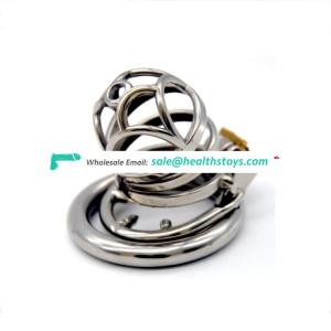 Metal long penis cage Bird Chastity Device metal cock ring lock slave BDSM bondage restraint sex toy cock cage steel for men