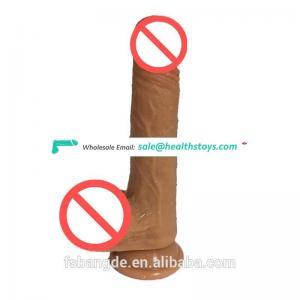 New design china big cock man  artificial  dildo soft realistic wholesale low price