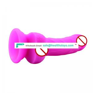 OEM/ODM realistic silicone big black strap on artificial rubber penis