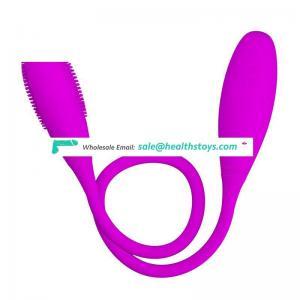 Powerful Dual Heads Brush Vibrator Anal Vagina Mini Egg Vibrator For Female Masturbation Sex Toy