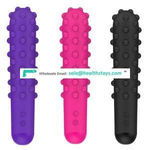 Powerful oral clit Vibrators USB Charge AV Magic Wand Vibrator Massager Adult Sex Toy body massage vibrator for women masturbate