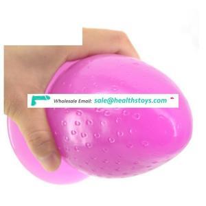 Premium pvc  Real Skin realistic Feeling G-spot passion  strawberry shape anal plug adult masturbation devices  sex toys