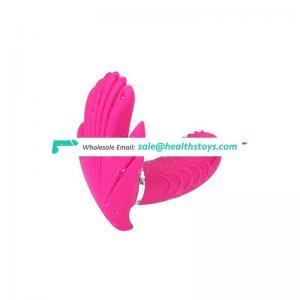 Quality and quantity assured electric pulse men silicone dildo vibrator