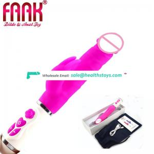 Rampant Swing Rabbit Vibrator Remote Toys Sex Adult Dildo Anal Vibrator Sex Toy Women Vibrator Toys Vagina Sex Toys For Women