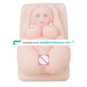 Realale Masturbator, 3D Sex Doll with sound for Men from Soft Squeezable Silicone MastubationToy for Men