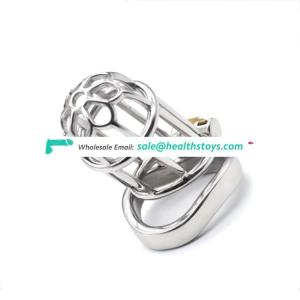 Stealth Lock Chastity Cage Stainless Steel Male Chastity Device Sex Toys Penis Lock Cock Ring sex toy chastity cock cage for men