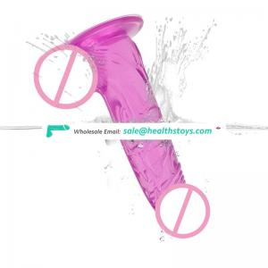 TPE Materials Realistic Dildos with Suction Cup Adult Jelly Dildos for Women