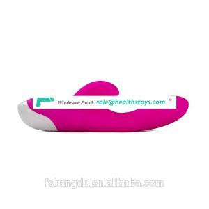 Vibrator Toys For Ladies,Double Rabbit Vibrator Medical-grade Silicone Dildo Vibrating Adult Toy
