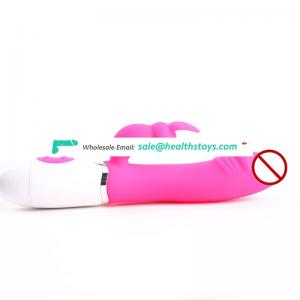 Waterproof Medical Silicone Internal G-Spot Dual Vibrator Dildo Erotic Funny Penis Sex Toys