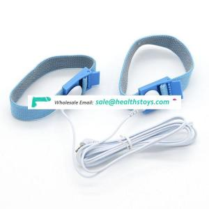 Wholesale Electric Adult Sex Toy Blue Delay Ejaculation Cock Penis Ring