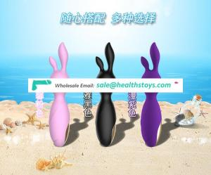 Wholesale Hot sale USB Charging Silicone Electric g vibrator Rabbit sex toys doll