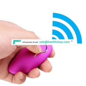 Wireless Remote Control 10 Speed Silicone Vibrating Sex Eggs Waterproof Massager Vibrator